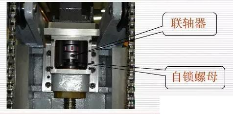 数控加工中心保养联轴器自锁螺母